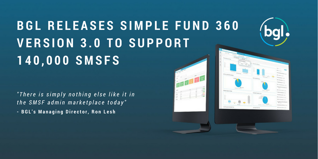 BGL releases Simple Fund 360 version 3.0 to support ...