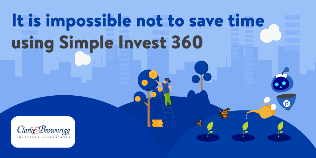 It is impossible not to save time using Simple Invest 360